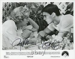 TOM CRUISE & JERRY BRUCKHEIMER Authentic Hand-Signed TOP GUN 8x10 Photo(JSA COA)