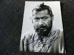 TOSHIRO MIFUNE signed autograph 5x6.5 autograph Photo SCARCE