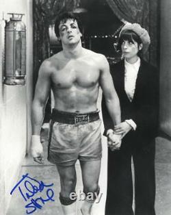 Talia Shire Signed 8x10 Photo Rocky Godfather Authentic Autograph Proof Coa A
