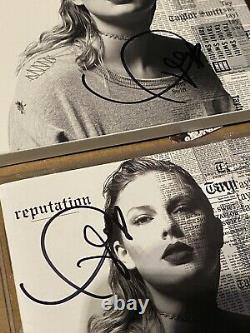 Taylor Swift 3x Hand Signed Reputation Album CD Autograph Coa Jsa Coa Authentic
