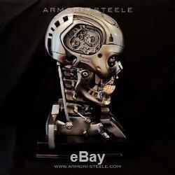 Terminator T-800 Signed By Arnold Schwarzenegger Head Skull Skeleton Autographed