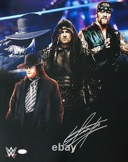The Undertaker Signed Autographed 16x20 Photo JSA Authenticated WWE WWF WCW 1
