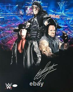 The Undertaker Signed Autographed 16x20 Photo JSA Authenticated WWE WWF WCW 3