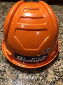 Tim Allen Signed Binford Tools Hard Hat Helmet Beckett COA Home Improvement RARE