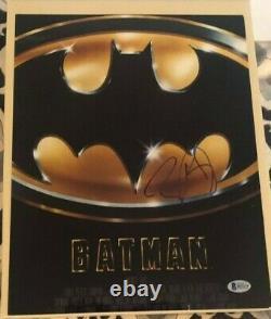 Tim Burton signed autographed 11x14Photo Batman Beckett Authenticated COA