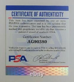 Timothy Dalton Signed 5x8 James Bond PSA DNA Certified Authentic Autograph