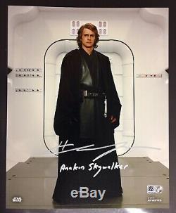 Topps Star Wars Authentics Hayden Christensen 8x10 Signed Autograph