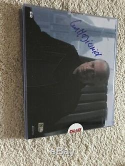 Topps Star Wars Authentics Signed 8x10 Ian McDiarmid Auto