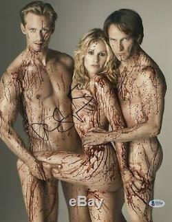 True Blood' Alexander Skarsgard Signed 11x14 Photo Authentic Auto Beckett Bas