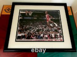 Upper Deck Michael Jordan UDA Authenticated Signed 8X10 Autographed Photo AUTO