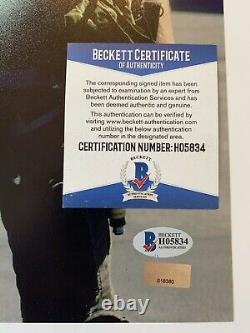 Val Kilmer autographed 11x14 photo Beckett Authenticated BAS Top Gun Ice Man