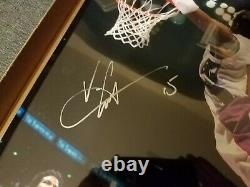 Vince Carter Autographed 16x20 Photo Man Can Fly Fleer Authenticated with COA Auto