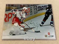 Wayne Gretzky Autographed 8x10 NYR Authenticated by WG