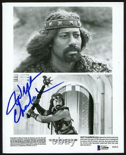 Wilt Chamberlain Authentic Autographed Signed 8x10 Photo Conan Beckett A62890