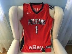 Zion Williamson Signed Auto Official Nba Jersey Pelicans (cert. # 235125)