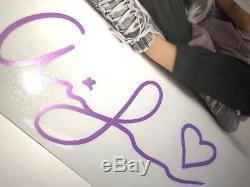 (2) Grande Ariana Main Authentique A Signé Des Autographes 7x11 Photos Avec Coa