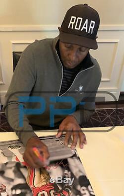 49ers Jerry Rice Authentique Signé 16x20 Vertical Spotlight Photo Bas Témoin De