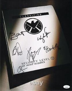 Agents De Shield Cast X6 Authentic Hand-signé Clark Gregg 11x14 Photo Jsa Coa