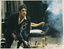 Al Pacino Authentic Signé 11x14 Scarface Photo Big Gun Psa/dna Itp Autograph
