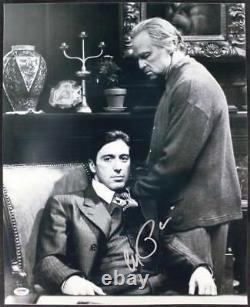 Al Pacino Godfather Signed Authentic 16x20 Photo Avec Brando Psa Itp #4a98748