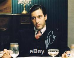 Al Pacino Parrain Signé Authentique 11x14 Autograph Psa Photo / Adn Pti # 5a78932