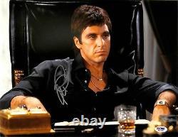 Al Pacino Scarface Authentic Signed 11x14 Photo Autographiée Psa/dna Itp #5a00916