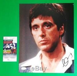 Al Pacino Signe 11x14 Scarface Photo Avec Jsa Certified Authentique Coa Psa