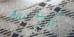 Albert Einstein 1935 Authentique Signé 7.5x9.75 Photo Encadrée Bas # A89682