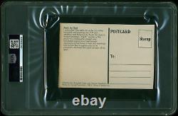 André The Giant Authentic Signé 3.5x5.5 Carte Postale Autographiée Psa/adn Dalled