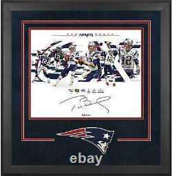 Autographié Tom Brady Patriots 16x20 Photo Fanatique Authentic Coa Item#9369076