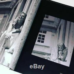 Britney Spears Signé Etapes Livre Photo Autographe Authentique Tour Dwad Promo + DVD