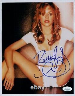 Brittany Murphy Actrice Signé 8x10 Photo Glacé Jsa Assermentée