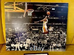 Bryant Signé 16x20 Kobe Photo Panini Assermentée