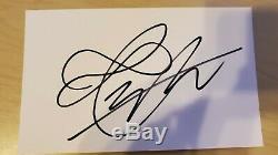Bts V Signé Carte Photo Officielle De Course Authentique Carte Man Mission Rare