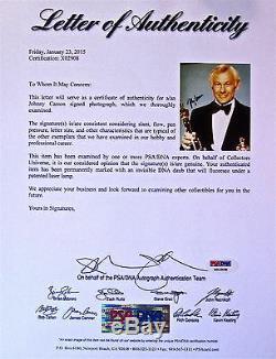 Carson Autographed Main Signée 8x10 Photo Psa / Adn Certifiées Conformes Loa