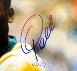 Certifié Pele Authentic Autographied Signé 16x20 Photo Cbd Brésil Psa/dna 77878