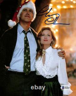 Chevy Chase Vacances De Noël Authentique Signé 8x10 Photo Bas Témoin 38