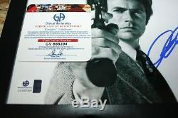 Clint Eastwood Dirty Harry Autosigné Assermentée Movie Star Photo Encadrée Coa