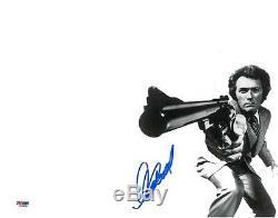Clint Eastwood Signé Dirty Harry Authentique 11x14 Photo (psa / Dna) # Q43958