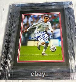 Cristiano Ronaldo Signé Autographié Personnalisé Encadré 8x10 Photo 1/1 Authentique