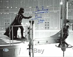 David Prowse Star Wars Darth Vader Authentique Signé 11x14 Photo Bas 3