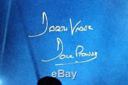 David Prowse Star Wars Darth Vader Authentique Signé 16x20 Photo Bas 5