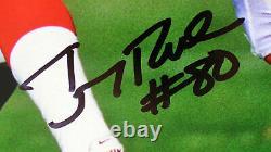 Deion Sanders & Jerry Rice Authentic Signé 16x20 Horizontal Photo Bas Témoin