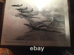 Douglas Bader Signé Hurricane Print/photo 100% Authentic