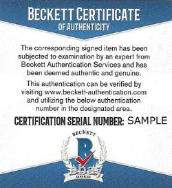 Drew Brees Authentic Autographed Signed 8x10 Photo Saints Sb XLIV Beckett 145157