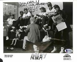 Eazy-e Stay Cool Homeboy Authentique Signé 8x10 B & W Promo Photo Bas # A79356