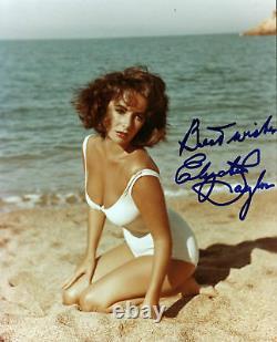 Elizabeth Taylor Soudain Été Authentique Signé 8x10 Photo Psa/adn G57711