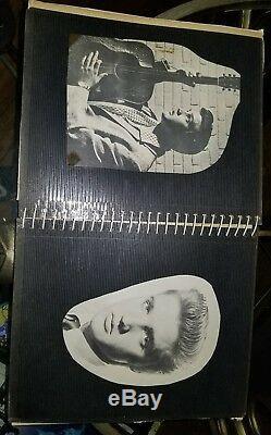Elvis Presley Authentique Signé Photo / Musique Souvenirs