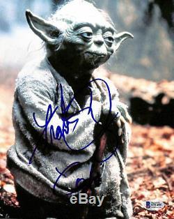 Frank Oz Star Wars Yoda Authentique Signé 8x10 Photo Dédicacée Bas # S71455