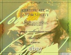 George Michael Authentic Authentic First Hand Signed Autographied Photographed Coa